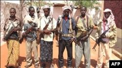 Боевики террористической группировки «Аш-Шабаб»