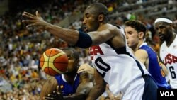 Матч между сборными США и Испании, 24 июля 2012 года