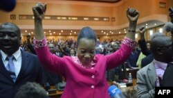Các nhà lập pháp của nước Cộng hòa Trung Phi nhiều bất ổn đã chọn Đô trưởng Bangui, bà Catherine Samba-Panza, làm Tổng thống lâm thời.