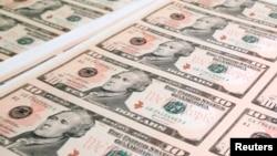 El actual billete de $ 10 dólares tiene la imagen del primer secretario del Tesoro de EE.UU. Alexander Hamilton.