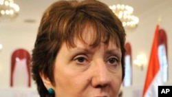 European Union foreign policy chief Catherine Ashton (file photo)