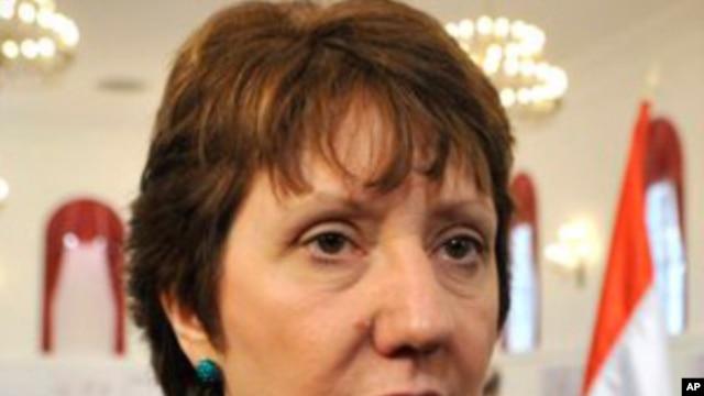 European Union foreign policy chief Catherine Ashton (file photo)