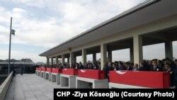 Çarşamba günkü saldırıda ölen 28 kişiden sekizinin cenazerleri Ankara Kocatepe Camisi'nden kaldırıldı