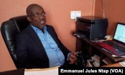 Jean Keller Lotto, directeur des projets fondation Cœur d'Afrique à Yaoundé, le 7 décembre 2017. (VOA/Emmanuel Jules Ntap)
