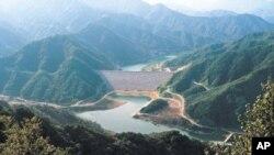 임진강 상류 황강댐