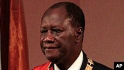 Ivory Coast President Alassane Ouattara (file photo)