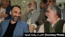 آقای نور طرفدار سرسخت عبدالله عبدالله در زمان مبارزات انتخابات ریاست جمهوری بود