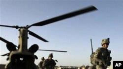 아프가니스탄에서 작전중인 미군 (자료사진)