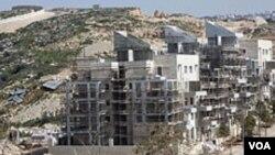L'une des colonies construites par Israël en Cisjordanie.
