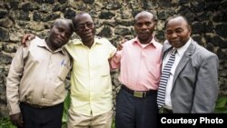 Members of a DRC village peace committee: Credit: Sean Sheridan/World Relief