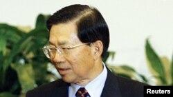 台湾外交部长田弘茂(资料照片)