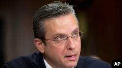 """El gobernador de Puerto Rico, Alejandro Javier Garcia Padilla, dijo que el incumplimiento de pago de los bonos del Territorio Asociado es """"muy probable"""" el primero de enero de 2016."""