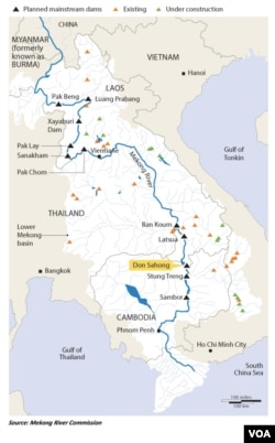Mekong River Projects