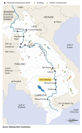 Mekong River Project, Xayaburi Dam