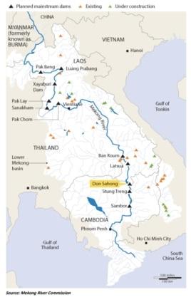 Mekong River Project, Xayaburi Dam