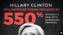 Tim kampanye Trump mengejek Clinton di laman Facebook (foto: dok).