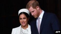 شہزادہ ہیری اور ان کی اہلیہ میگھن