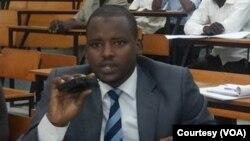 Mahamat Mahamat Zène Chérif, président du Collectif des Associations et Mouvement de Jeunes du Tchad (CAMOJET)