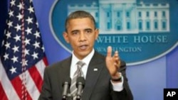 奥巴马总统周三在白宫
