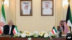 کنفرانس مشترک ظریف- الصباح، کویت، اول دسامبر ۲۰۱۳