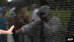 Đài Tưởng niệm Chiến tranh Việt Nam tại Thủ đô Washington.