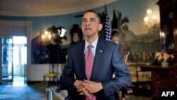 Президент США Барак Обама в Білому домі