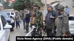 Kobani'ye giren ilk Peşmerge grubu