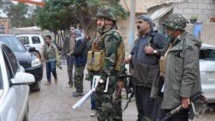 عراقی کرد پیش مرگہ کا پہلا دستہ کوبانی پہنچ گیا