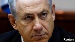 El primer ministro israelí Benjamin Netanyahu en una reunión de gabinete el domingo 2 de febrero.