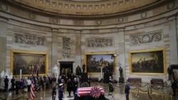 ကြယ္လြန္သူ ၄၁ ဦးေျမာက္ အေမရိကန္သမၼတ George Bush ကုိ ႏုိင္ငံဂါရ၀ျပဳ