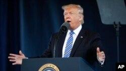 Le président Donald Trump, 13 mai 2017.