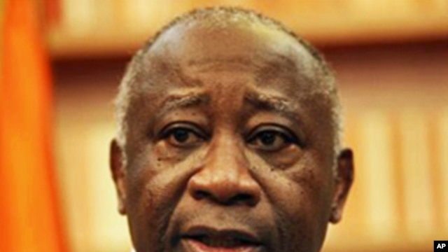 President Laurent Gbagbo speaks during an exclusive interview at his residence in Abidjan, 26 Dec 2010