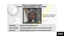 Profile of Mohamed Kuno, Al-Shabaab