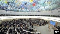 Засідання Ради ООн із прав людини в Женеві