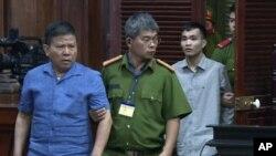 Ông Châu Văn Khảm bị tuyên án 12 năm tù tại phiên xử sơ thẩm ngày 11/11/2019 ở Tp. Hồ Chí Minh.
