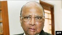 Bộ trưởng Nông nghiệp Ấn Độ Sharad Pawar