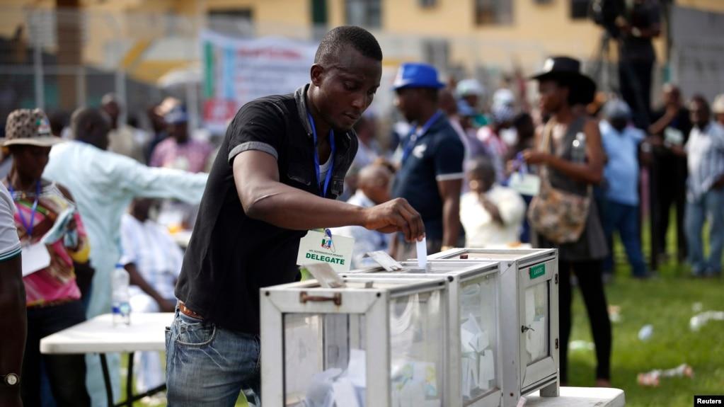 Image result for Nigerians voting
