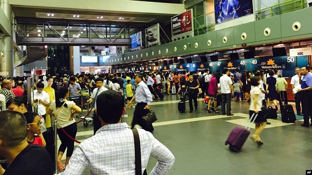 Sân bay Nội Bài, Hà Nội.