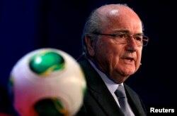ປະທານຂອງ FIFA ທ່ານ Sepp Blatter