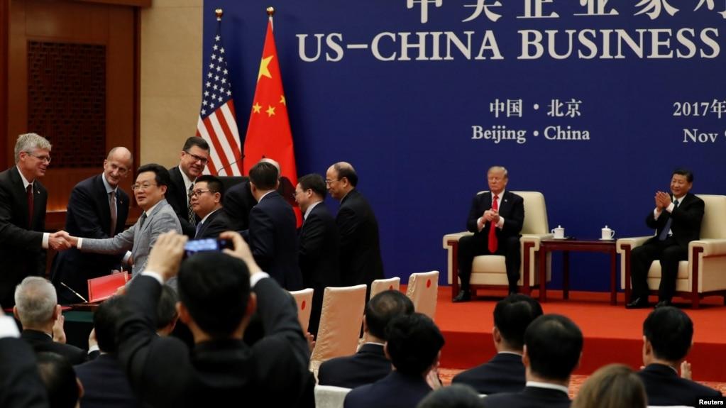 中国对美贸易顺差2017再创新高 赚回2758亿刀