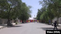 برپایی خیمههای تحصن، سبب ازدحام بیش از حد در کابل شده بود