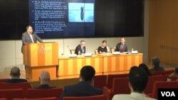 9일 미국 워싱턴 '케이토 연구소(CATO Institute)'에서 사이버 안보 관련 토론회가 열렸다.