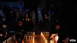 کراچی: 'ارتھ آور' کی جھلکیاں