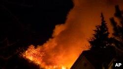 El incendio, en el centro de Colorado, está cerca de dos conjuntos residenciales en las afueras de Silverthorne, al oeste de Denver.