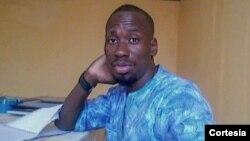 Leonardo Ngola, activista e porta-voz do projecto Debate na Comunidade