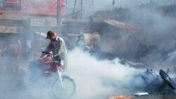 در بمب گذاری انتحاری در پاکستان ۵۳ تن کشته شدند
