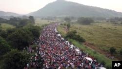 Karavan migranaza iz Centralne Amerike