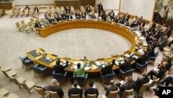 聯合國安理會會議 (資料照片)