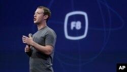 Pendiri dan CEO Facebook, Mark Zuckerberg dalam sebuah acara di San Francisco (foto: dok).