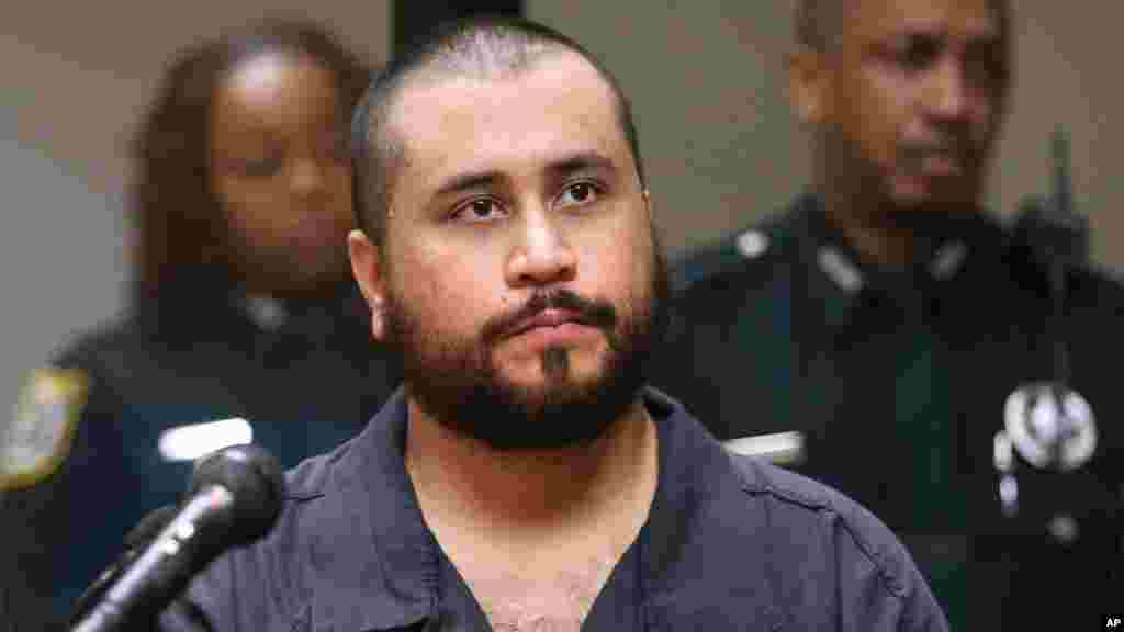 George Zimmerman, lors de son audition, le 19 novembre 2013.